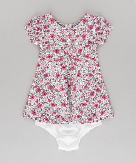 Vestido-Estampado-Floral---Calcinha---Laco-de-Cabelo-em-Algodao---Sustentavel-Off-White-8652718-Off_White_1