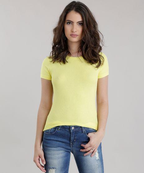 Blusa-Longa-Canelada-Basica-Amarela-8730753-Amarelo_1