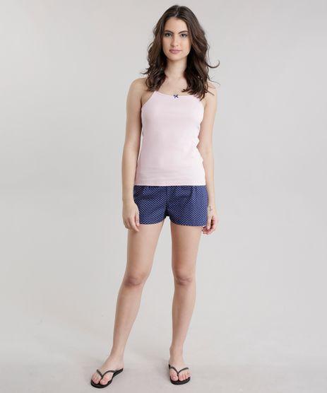 Pijama-Estampado-de-Poa-Rose-8698799-Rose_1