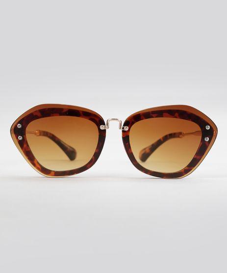Oculos-de-Sol-Quadrado-Feminino-Oneself-Marrom-8793836-Marrom_1