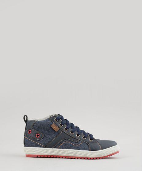 Tenis-Cano-Alto-em-Jeans-Azul-Medio-8740798-Azul_Medio_1