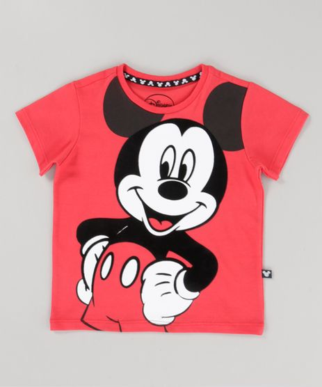 Camiseta-Mickey-Vermelha-8720828-Vermelho_1