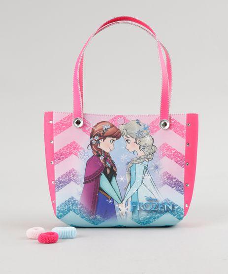 Bolsa-Frozen---Elasticos-de-Cabelo-Rosa-Escuro-8673645-Rosa_Escuro_1