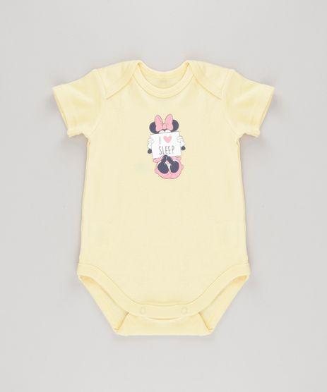 Body-Minnie-em-Algodao---Sustentavel-Amarelo-8584566-Amarelo_1