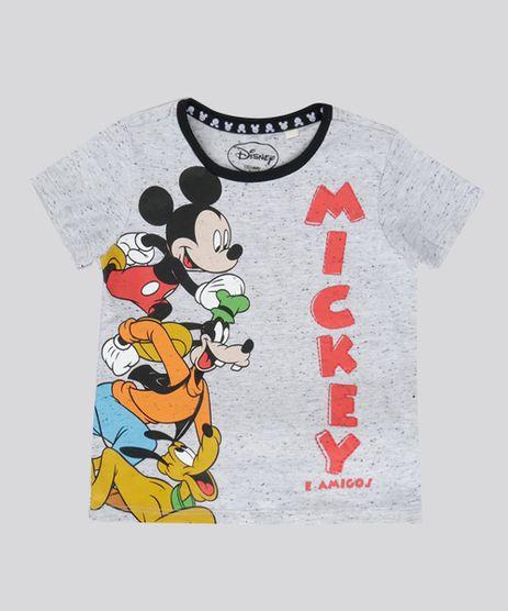 Camiseta-Botone-Turma-do-Mickey-Cinza-Mescla-Claro-8712279-Cinza_Mescla_Claro_1