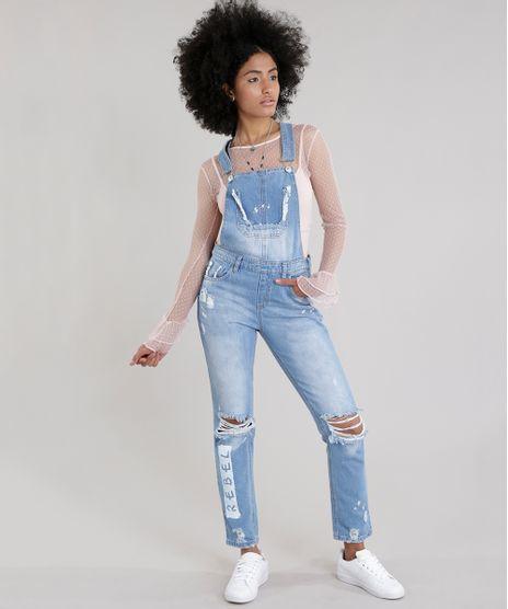 Macacao-Jeans-Destroyed-com-Estampa-Azul-Medio-8743688-Azul_Medio_1