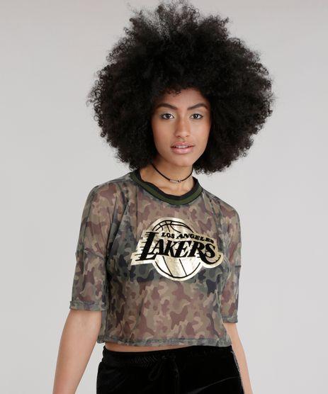 Blusa-Cropped-em-Tule-Estampado-Camuflado-Los-Angeles-Lakers-Verde-Militar-8746144-Verde_Militar_1
