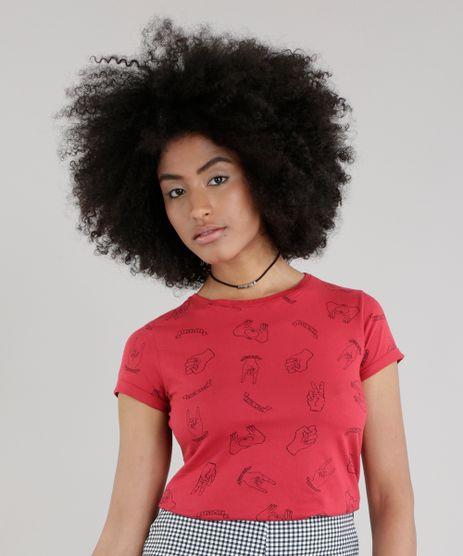 Blusa-Estampada--Feminist--Vermelha-8756649-Vermelho_1