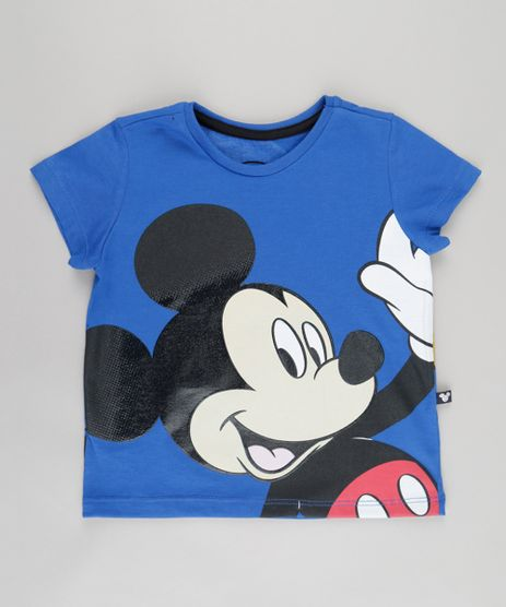 Camiseta-Estampada-Mickey-Azul-Royal-8742960-Azul_Royal_1
