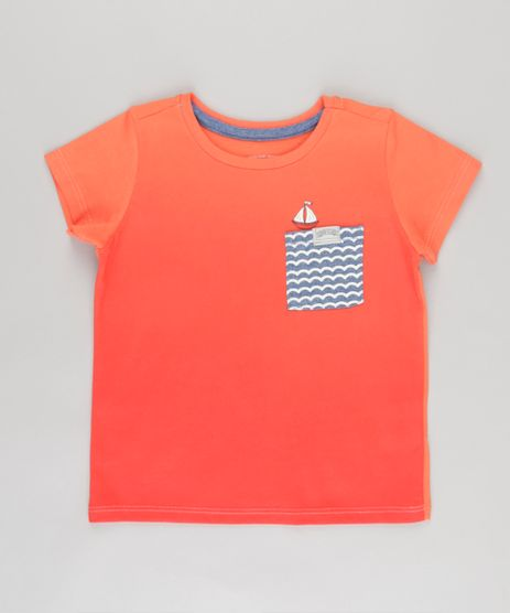 Camiseta-com-Bolso-Estampado-com-Barquinho-Laranja-8749969-Laranja_1