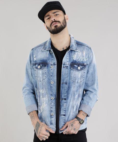 Jaqueta-Jeans-Trucker-Destroyed-com-Estampa-Azul-Medio-8756338-Azul_Medio_1