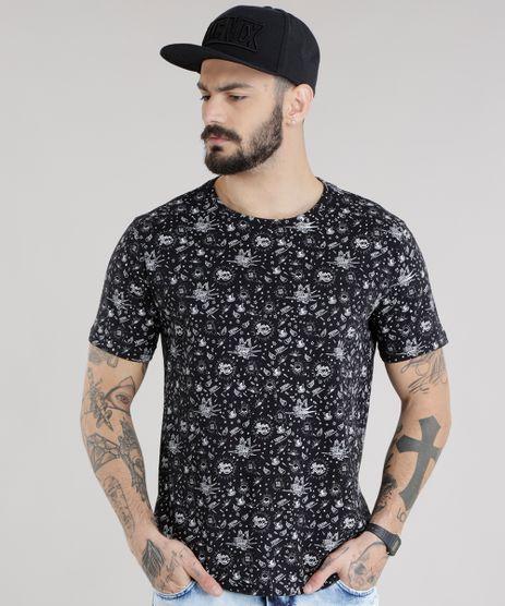 Camiseta-Estampada--Born-to-Ride--Preta-8704469-Preto_1