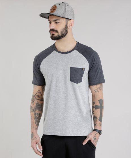 Camiseta-com-Bolso-Cinza-Mescla-Claro-8754505-Cinza_Mescla_Claro_1
