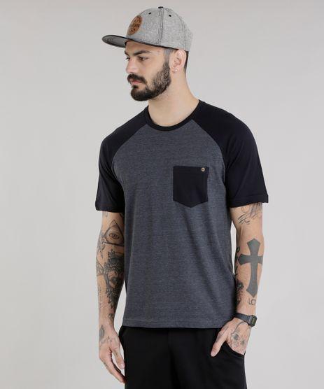 Camiseta-com-Bolso-Cinza-Mescla-Escuro-8754505-Cinza_Mescla_Escuro_1