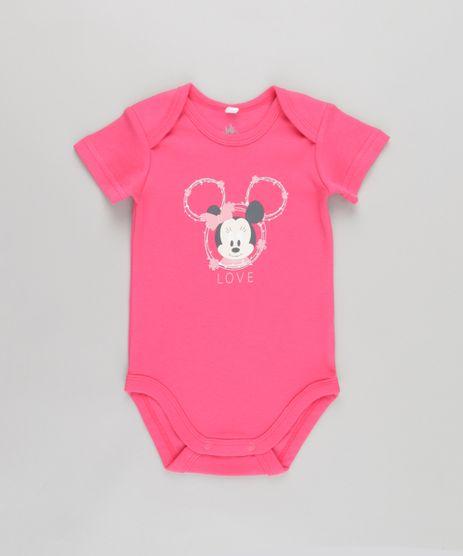 Body-Minnie-em-Algodao---Sustentavel-Rosa-Escuro-8584552-Rosa_Escuro_1
