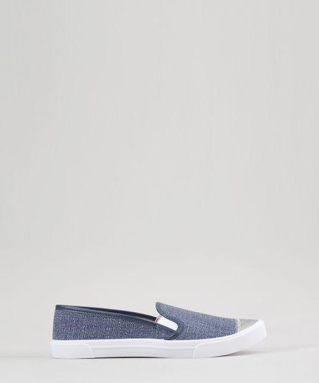 Tenis-Slip-On-com-Brilho-Moleca-Azul-8769544-Azul_1