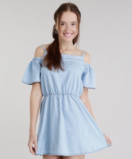 Vestido-Open-Shoulder-em-Jeans-Azul-Claro-8719419-Azul_Claro_1