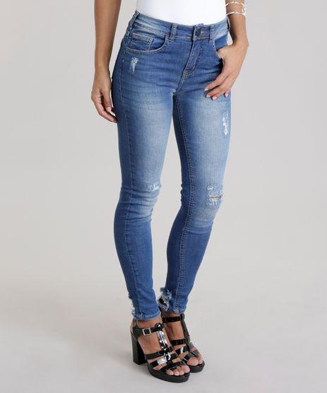 Calca-Jeans-Cigarrete-Destroyed-Azul-Medio-8748136-Azul_Medio_1