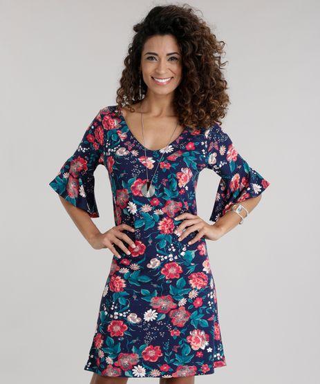 Vestido-Estampado-Floral-Azul-Marinho-8742524-Azul_Marinho_1
