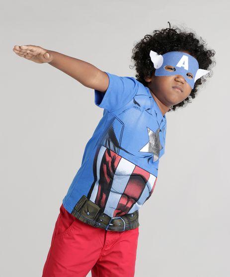 Camiseta-Capitao-America-Azul-8742474-Azul_1