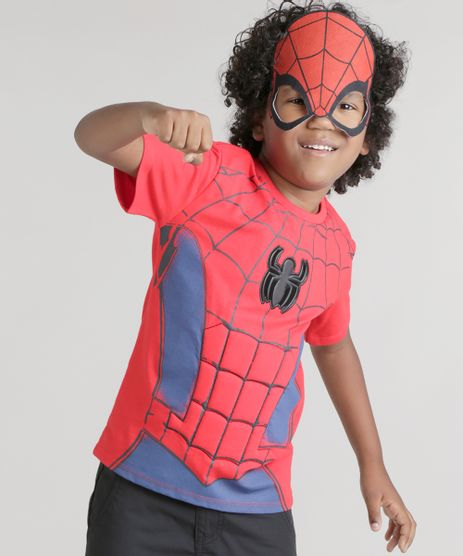 Camiseta-Homem-Aranha-Vermelha-8742467-Vermelho_1