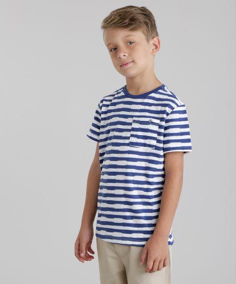 Camiseta-Listrada-com-Bolso-Branca-8760954-Branco_1