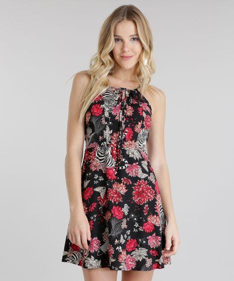 Vestido-Estampado-Floral-Preto-8658840-Preto_1