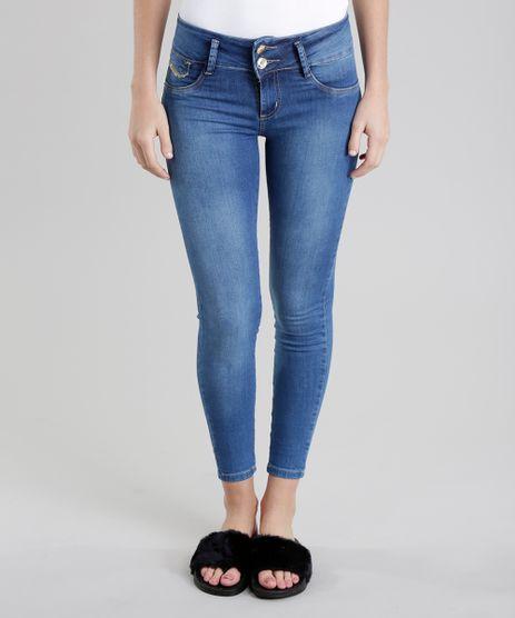 Calca-Jeans-Skinny-Modela-Bumbum-Sawary-com-Strass-Azul-Medio-8770137-Azul_Medio_1