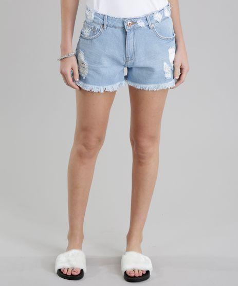 Short-Jeans-Relaxed-Destroyed-Azul-Claro-8784438-Azul_Claro_1