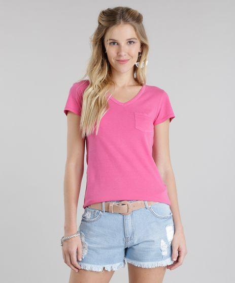 Blusa-Basica-com-Bolso-Rosa-Escuro-8730715-Rosa_Escuro_1