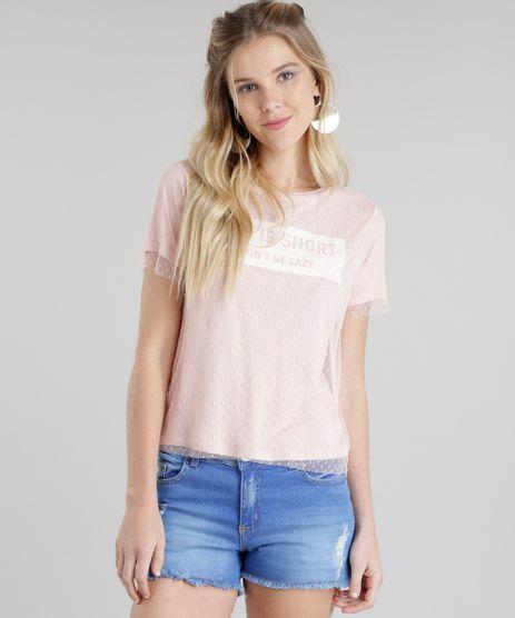 Blusa--Life-Is-Short--em-Tule-Rose-8745610-Rose_1