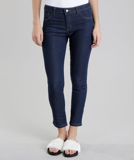 Calca-Jeans-Cigarrete-Azul-Escuro-8710393-Azul_Escuro_1
