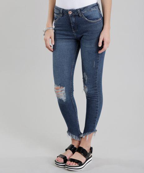 Calca-Jeans-Skinny-Destroyed-Azul-Escuro-8711141-Azul_Escuro_1