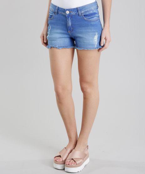 Short-Jeans-Reto-Destroyed-Azul-Medio-8774012-Azul_Medio_1