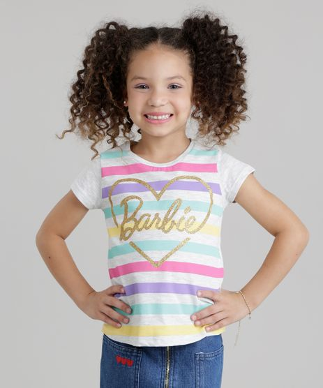 Blusa-com-Estampa-Listrada-Barbie-com-Glitter-Cinza-Mescla-Claro-8764175-Cinza_Mescla_Claro_1