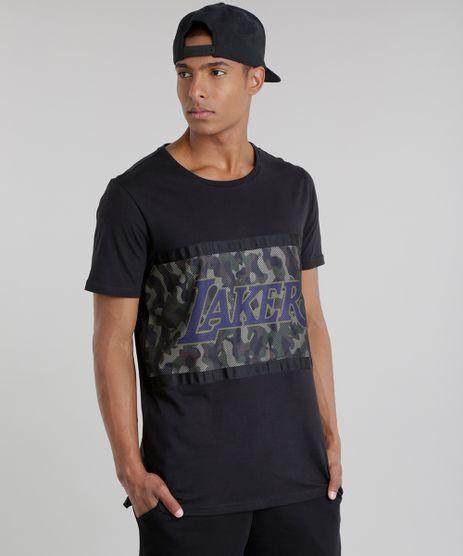 Camiseta-NBA-Los-Angeles-Lakers-Verde-Militar-8748174-Verde_Militar_1