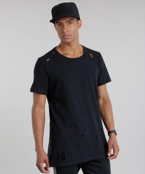 Camiseta-Longa-com-Rasgos-Preta-8720474-Preto_1