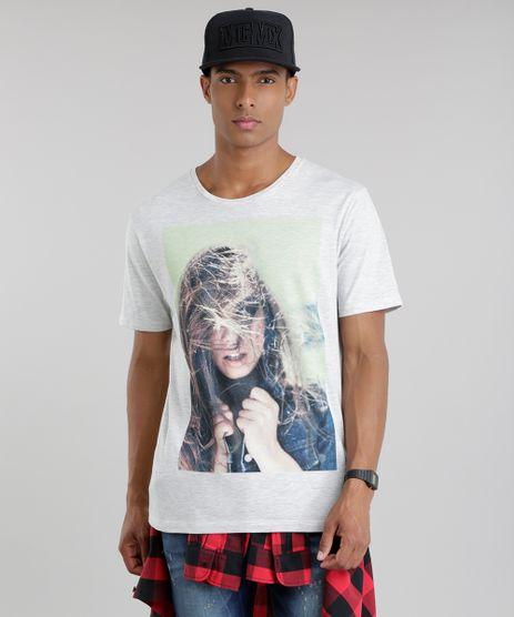 Camiseta-com-Estampa--Mulher--Cinza-Mescla-Claro-8659413-Cinza_Mescla_Claro_1