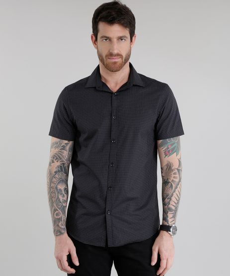 Camisa-Slim-Estampada-Preta-8636837-Preto_1