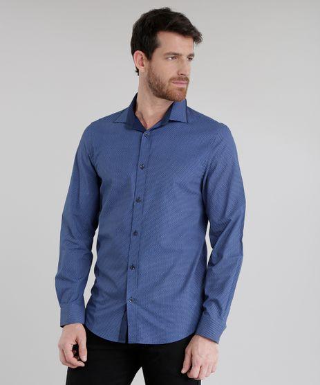 Camisa-Slim-Estampada-Azul-Marinho-8637805-Azul_Marinho_1