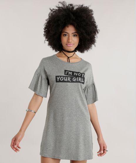 Vestido--I-m-Not-Your-Girl--com-Brilho--Cinza-Mescla-8743257-Cinza_Mescla_1