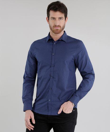 Camisa-Slim-Estampada-Azul-Marinho-8436639-Azul_Marinho_1