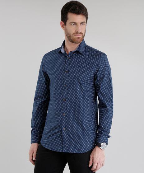 Camisa-Slim-Estampada-Azul-Marinho-8460915-Azul_Marinho_1