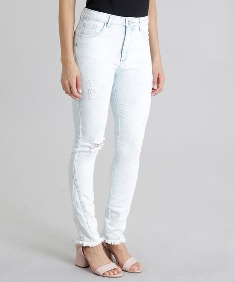 Calca-Jeans-Cigarrete-Destroyed-Azul-Claro-8747958-Azul_Claro_1