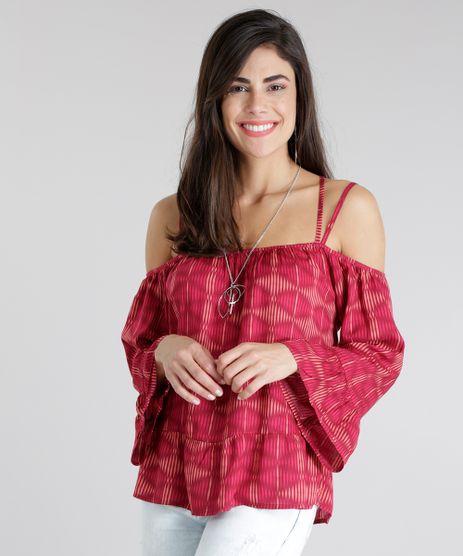 Blusa-Estampada-Geometrica-Rosa-Escuro-8650620-Rosa_Escuro_1