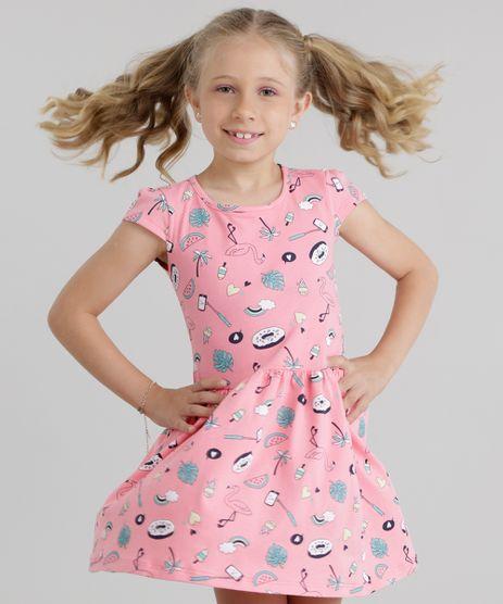Vestido-Estampado-de-Flamingo-Rosa-8741031-Rosa_1