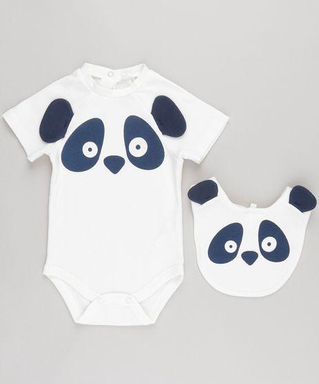 Body-Panda-Interativo-em-Algodao---Sustentavel-com-Babador-Off-White-8669187-Off_White_1