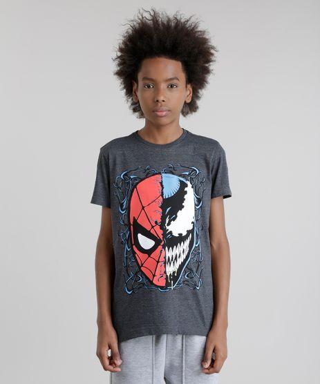 Camiseta-Homem-Aranha-Cinza-Mescla-Escuro-8713153-Cinza_Mescla_Escuro_1