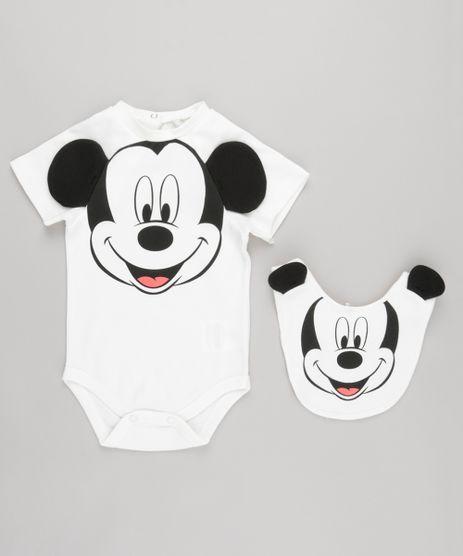 Body-Mickey-Interativo-em-Algodao---Sustentavel-com-Babador-Off-White-8669431-Off_White_1