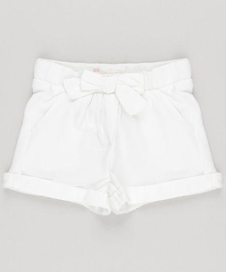 Short-em-Moletom-com-Laco-em-Algodao---Sustentavel-Off-White-8651787-Off_White_1